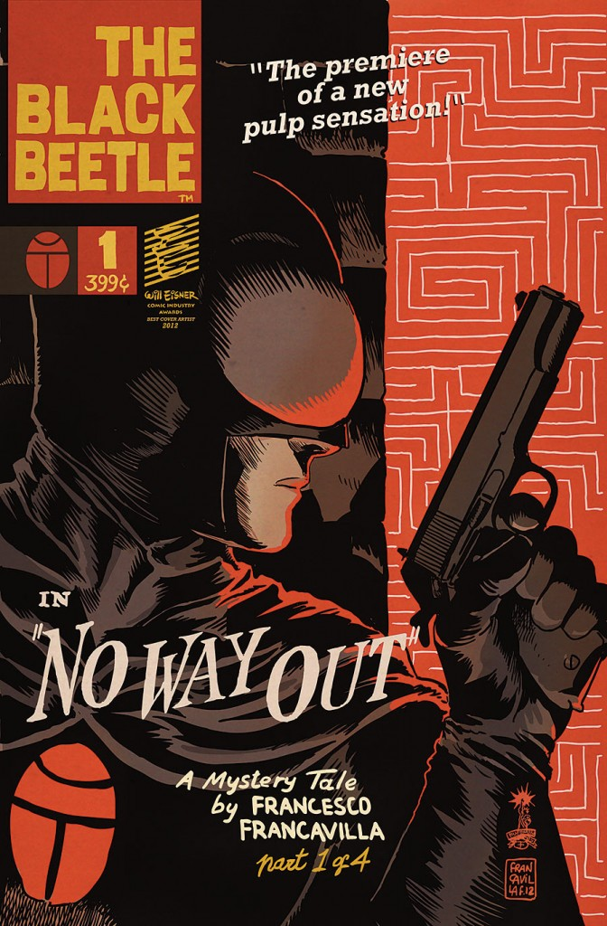 Black Beetle: No Way Out #1 (Dark Horse) - Artist: Francesco Francavilla