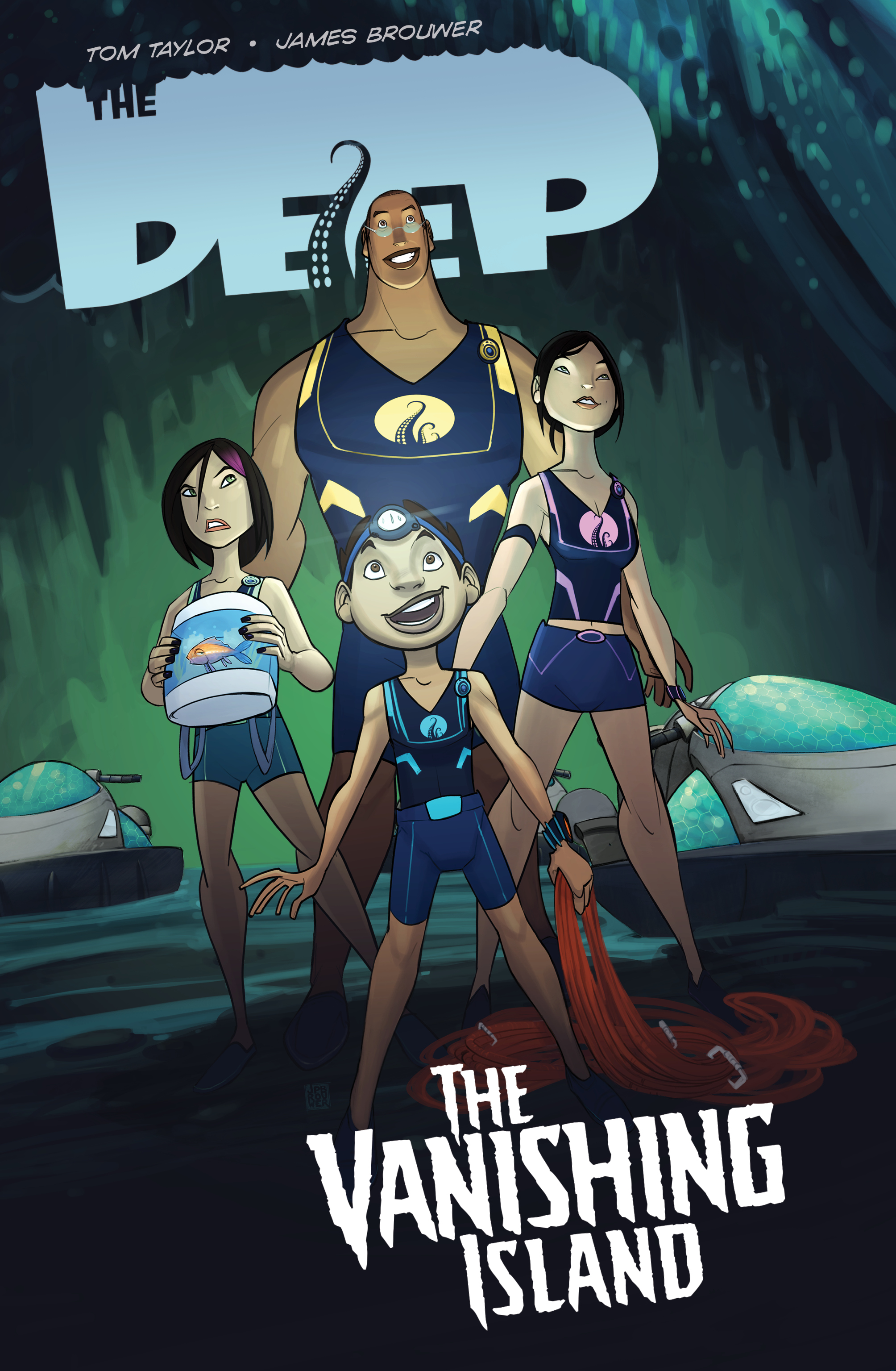 The Deep: The Vanishing Island (TPB)
