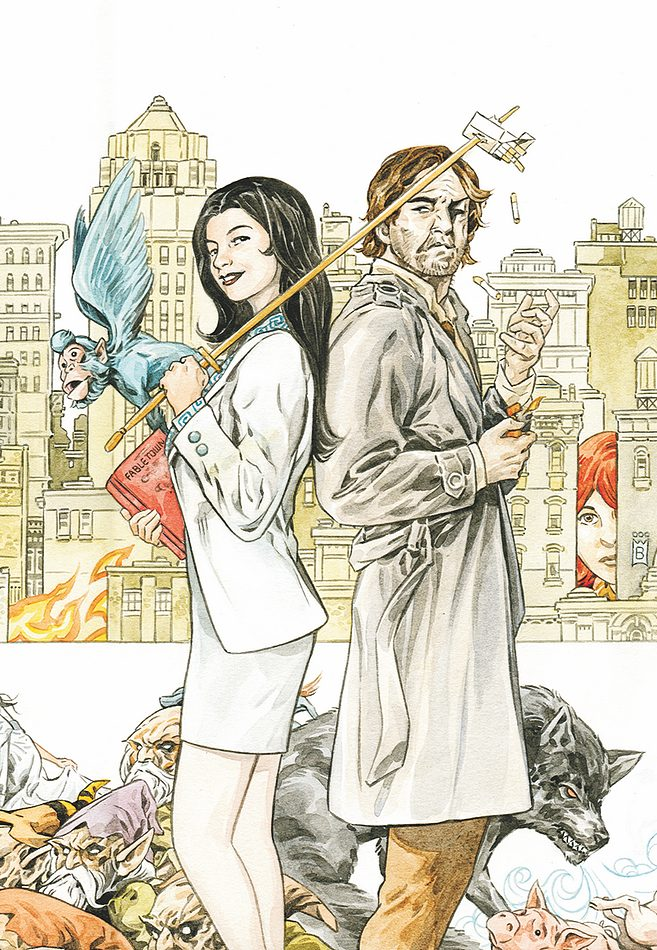 Fables #125 (DC/Vertigo) – Artist: Mark Buckingham