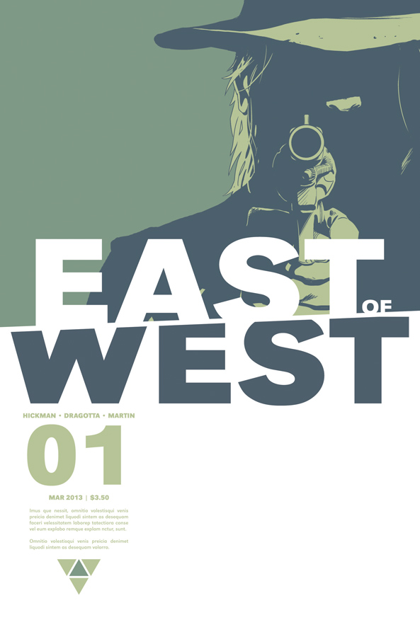 East of West #1 Cover (Image Comics)