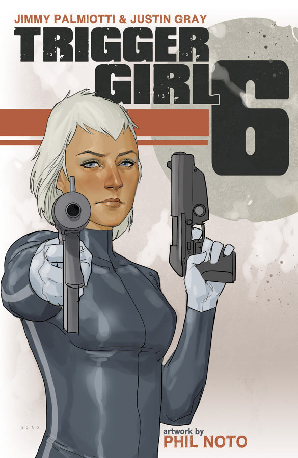 Trigger Girl 6 Cover (Image Comics) - Cover: Phil Noto