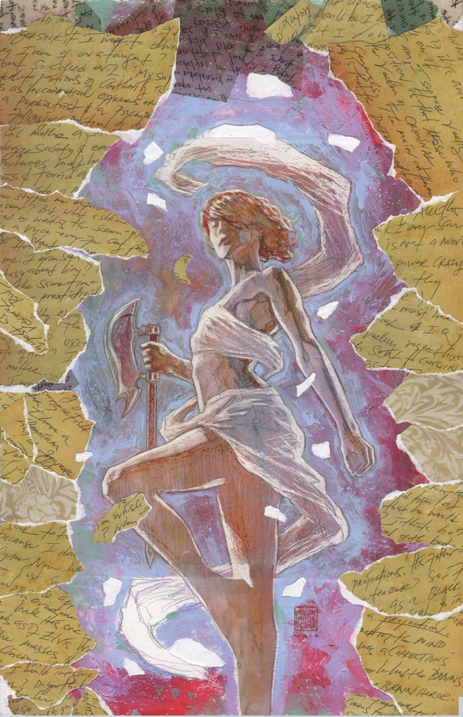 Buffy the Vampire Slayer: Willow – Wonderland #4 (Dark Horse) – Artist: David Mack