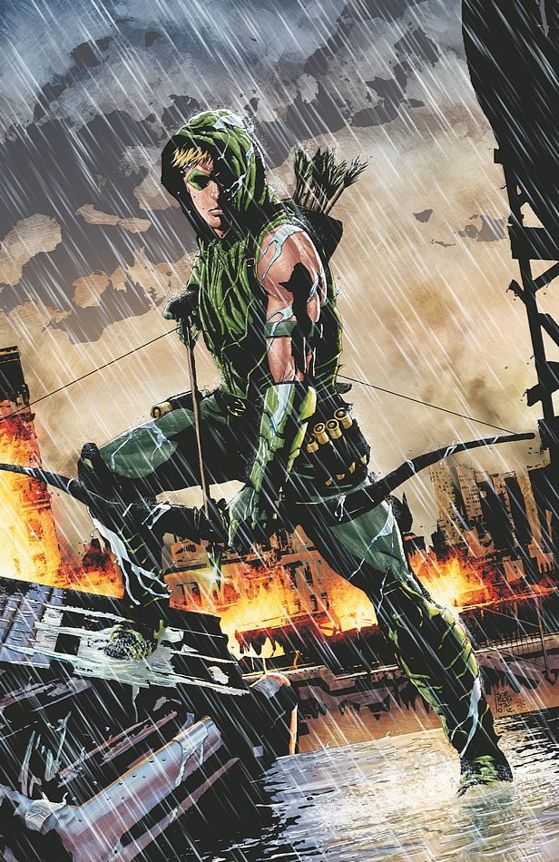 Green Arrow #17 (DC Comics) - Artist: Andrea Sorrentino