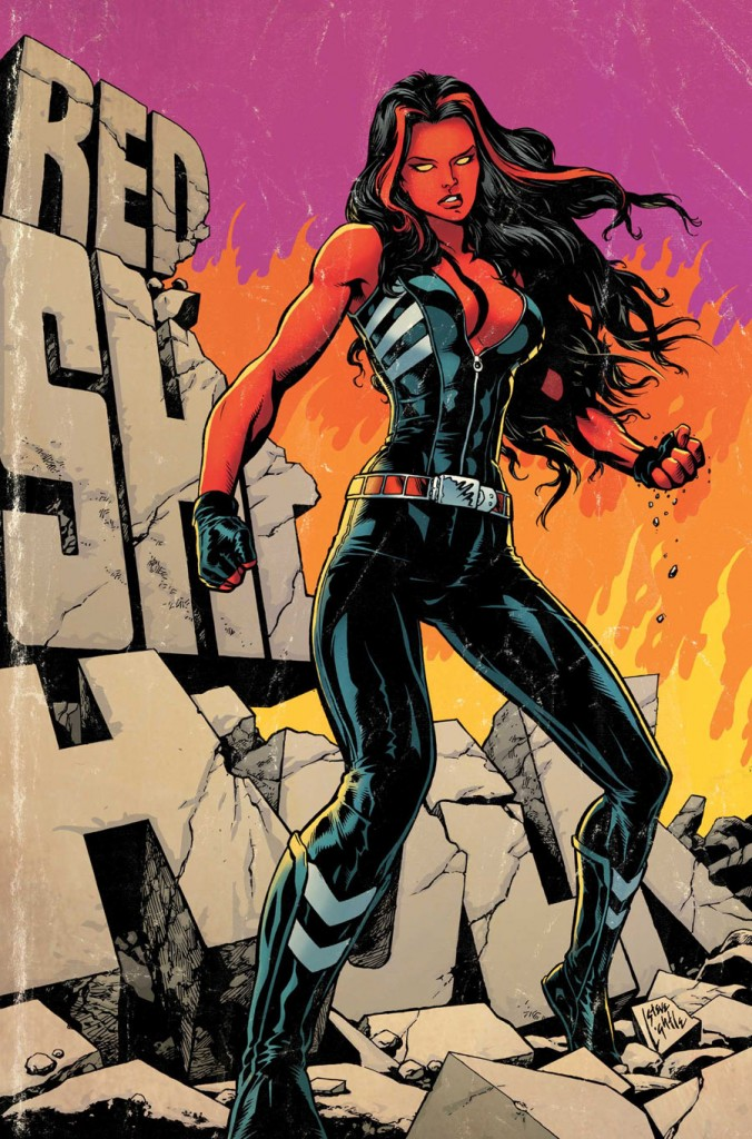 Red She-Hulk #62 (Marvel) - Artist: Steve Lightle