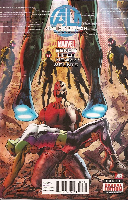 Age of Ultron #3 Cover (Marvel)
