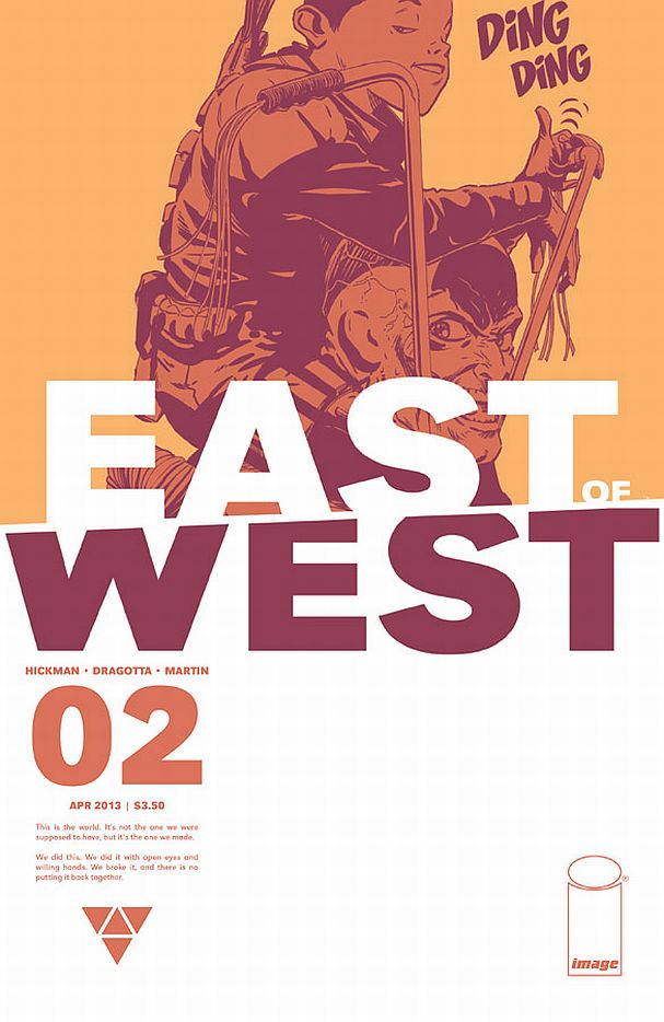 East of West #2 (Image Comics) - Artist: Nick Dragotta