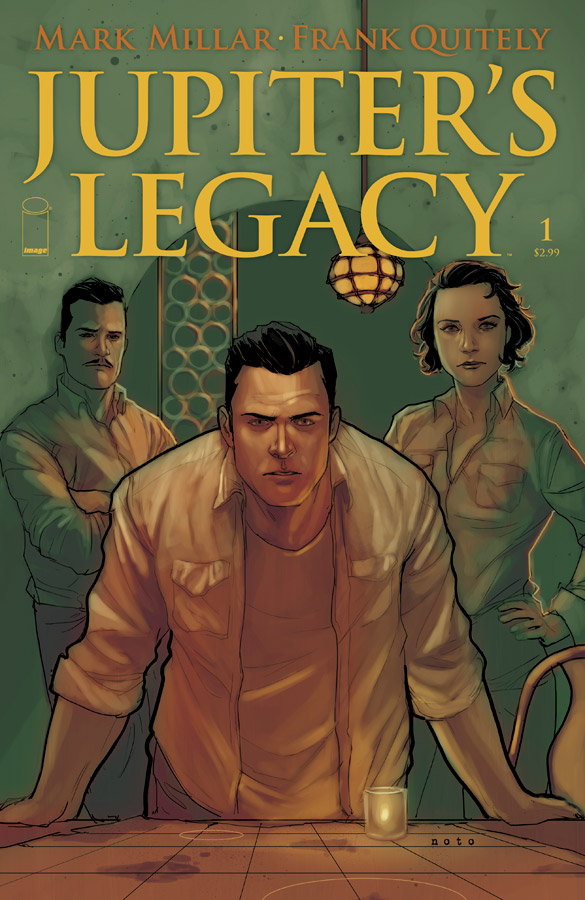 Jupiters Legacy #1 (Image Comics) - Artist: Phil Noto