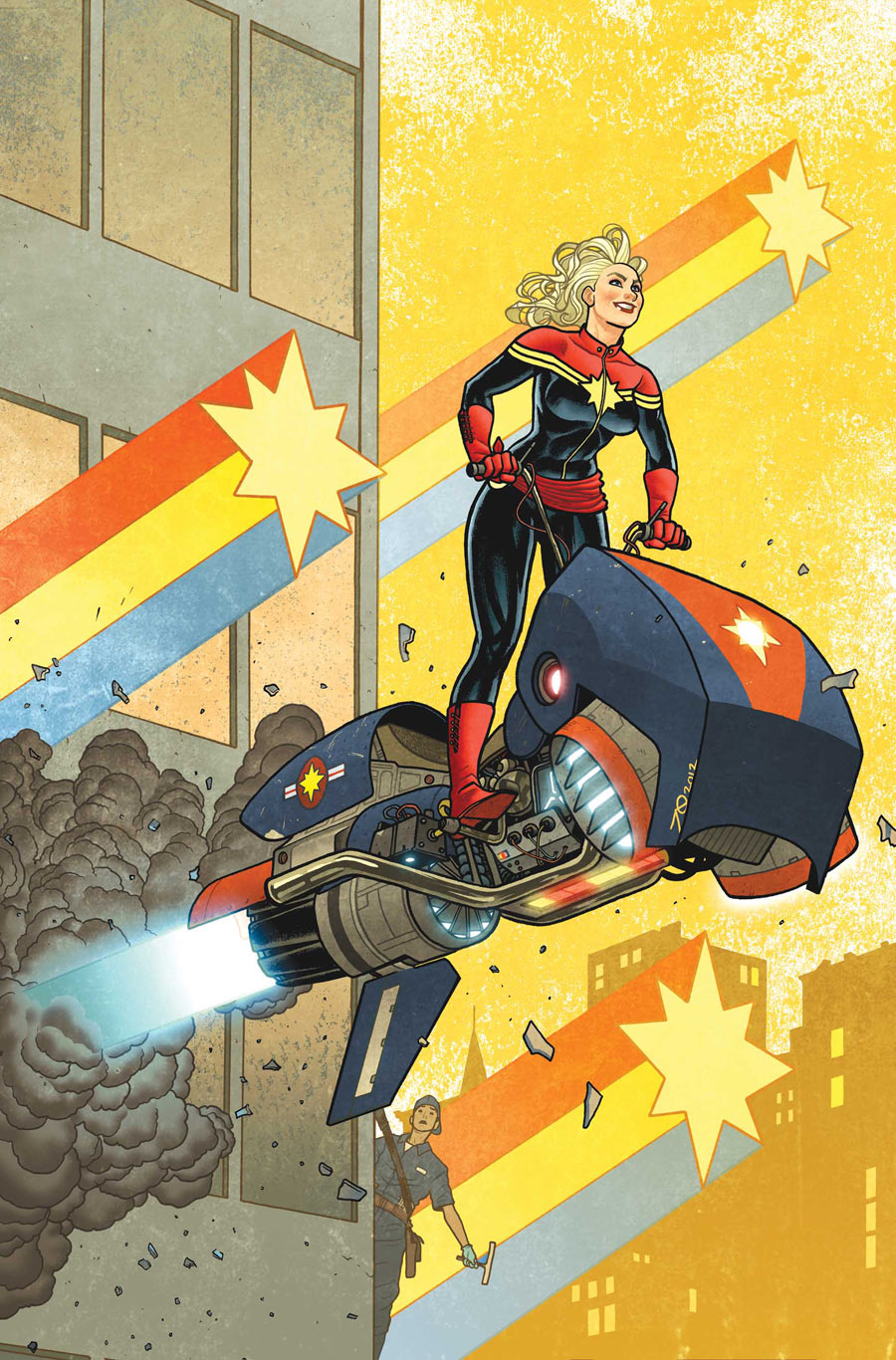 Captain Marvel #12 (Marvel) - Artist: Joe Quinones