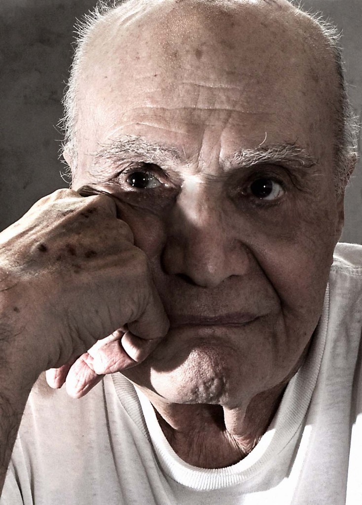 Carmine Infantino. Photo by Seth Kushner.