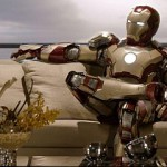 Iron Man 3 - Sitting on a couch/sofa