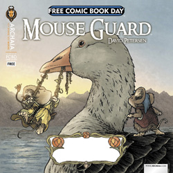 MOUSE GUARD / RUST FLIP BOOK FCBD 2013