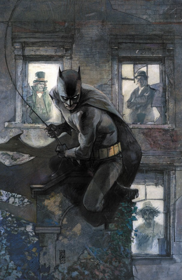 Batman: The Dark Knight Annual #1 (DC Comics) - Artist: Alex Maleev