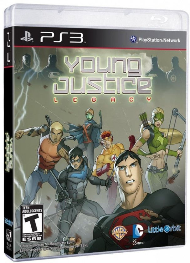Young Justice: Legacy cover (PS3)