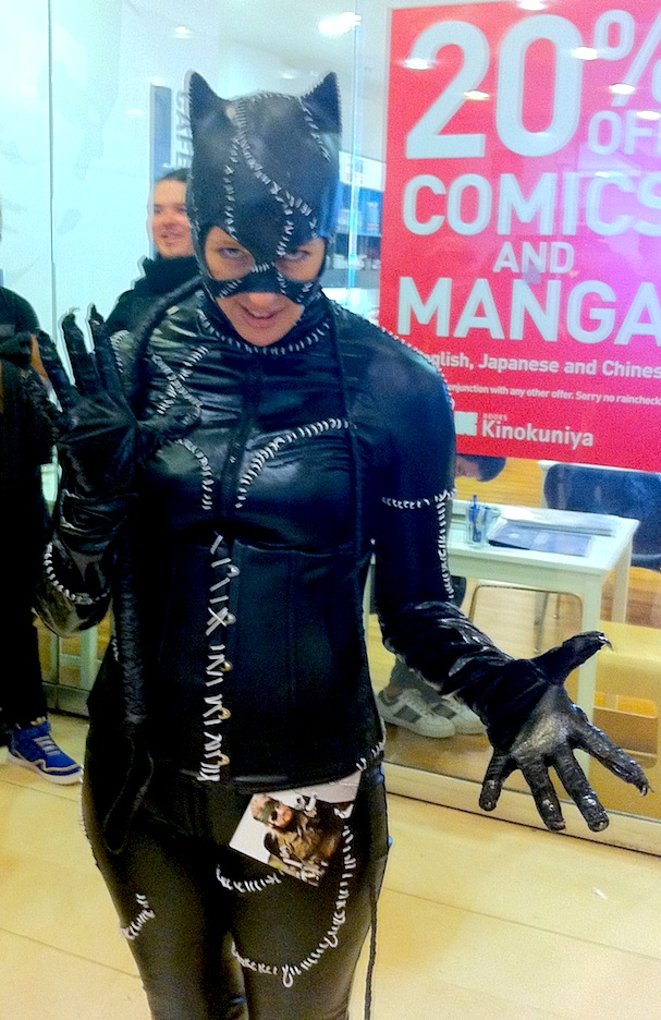 Free Comic Book Day - Cosplay - Catwoman at Kinokuniya, Sydney, 2013