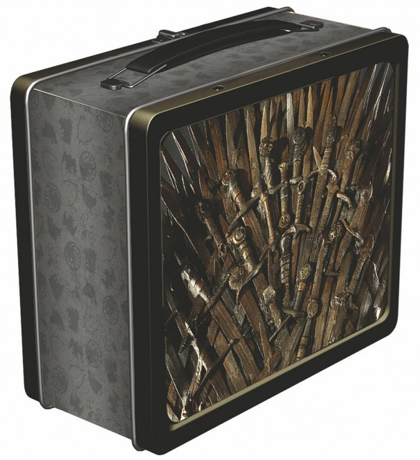 Game of Thrones - Iron Throne lunchbox