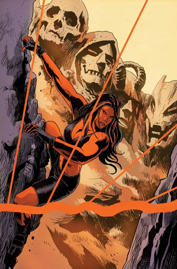 Red She-Hulk #65 (Marvel) - Artist: Francesco Francavilla