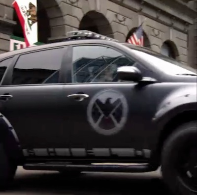 Marvel's Agents of S.H.I.E.L.D. - Van in California