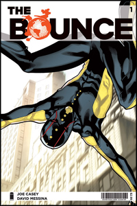 The Bounce #1 cover (Image Comics)