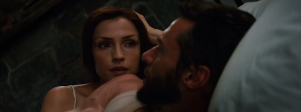 The Wolverine (Trailer) - Jean Grey and Logan