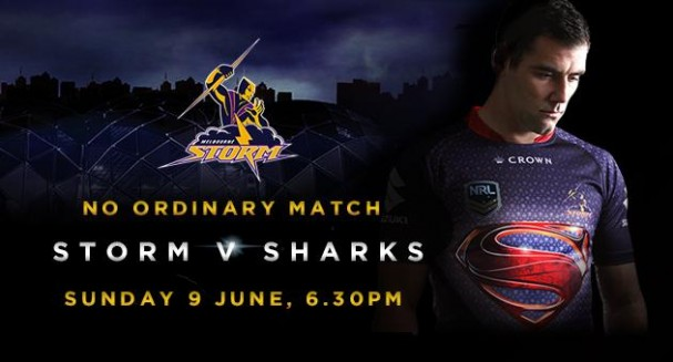 Man of Steel - Melbourne Storm - No Ordinary Match