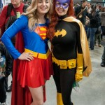 Supanova Sydney 2013 - Cosplay - Supergirl and Batgirl