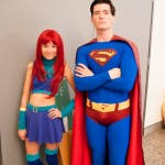 Supanova Sydney 2013 - Cosplay - Starfire and Superman