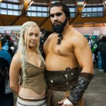 Supanova Sydney 2013 - Cosplay - Game of Throne (Drogo and Daenerys Targaryen (Sarah Katie Wood))