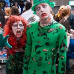 Supanova Sydney 2013 - Cosplay - Zombie Poison Ivy and Zombie Riddler (Hayley TFord and Chris Donnan)