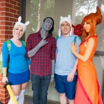 Supanova Sydney 2013 - Cosplay - Adventure Time (Flame Princess by Cassie Rose)
