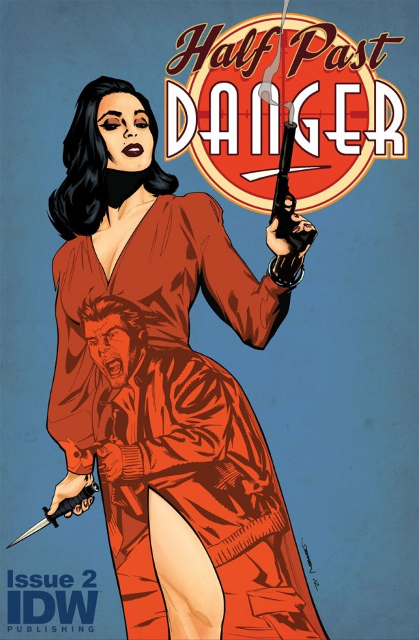 Haf Past Danger #2 (IDW) - Artist: Stephen Mooney
