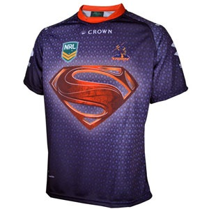 Man of Steel - Melbourne Storm Jersey - No Ordinary Match