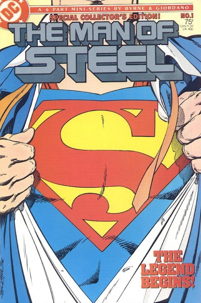 Superman: The Man of Steel #1 (John Byrne)