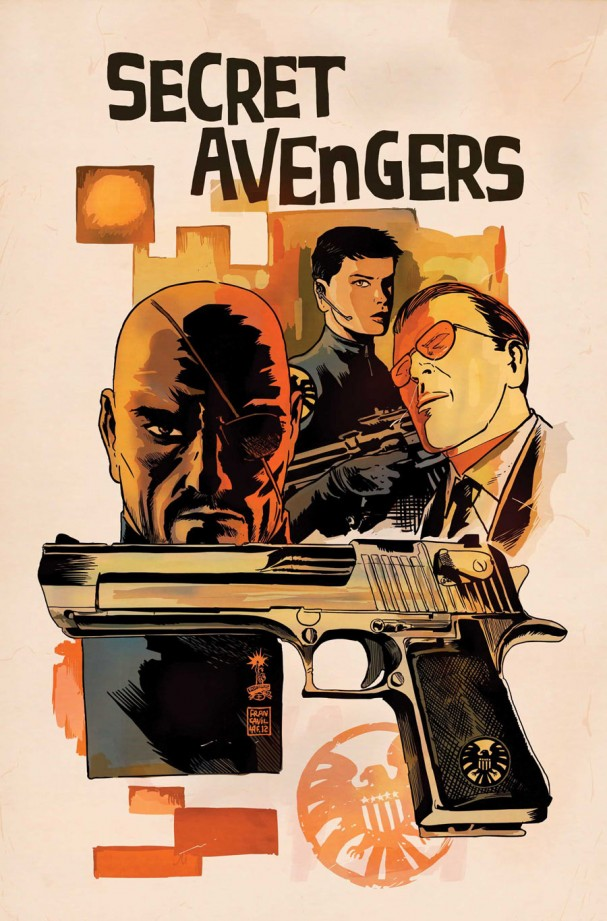 Secret Avengers #5 (Marvel) - Francesco Francavilla