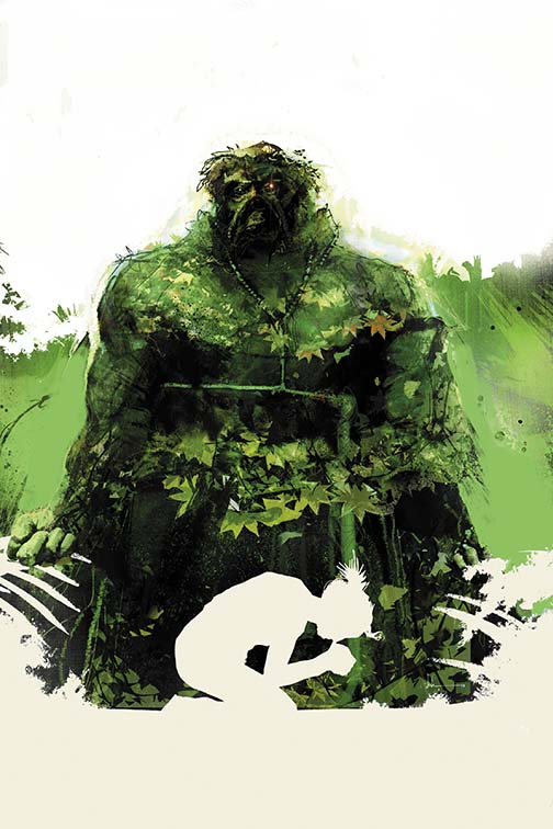 Swamp Thing #21 (DC Comics) - Artist: Jock