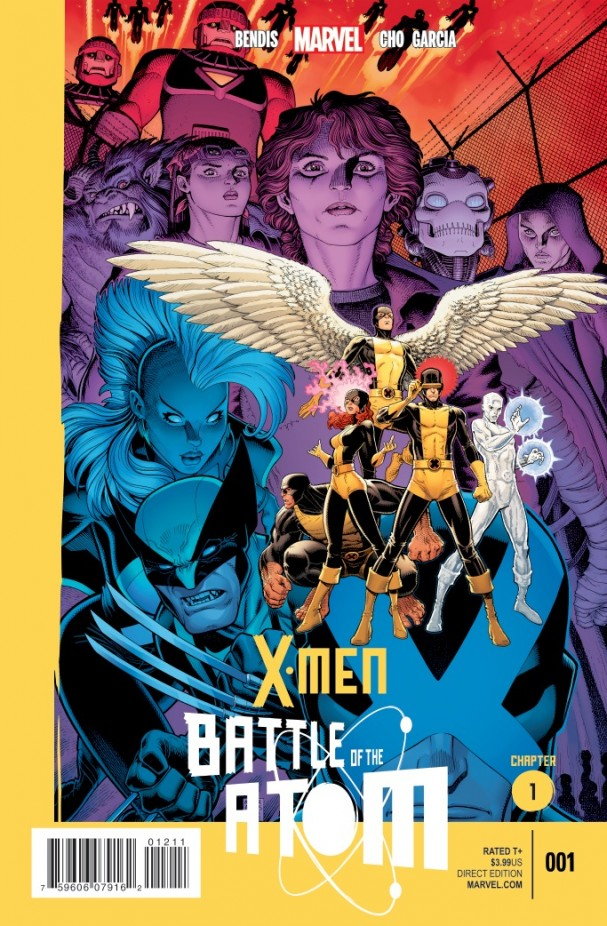 X:Men Battle Of The Atom #1 Cover