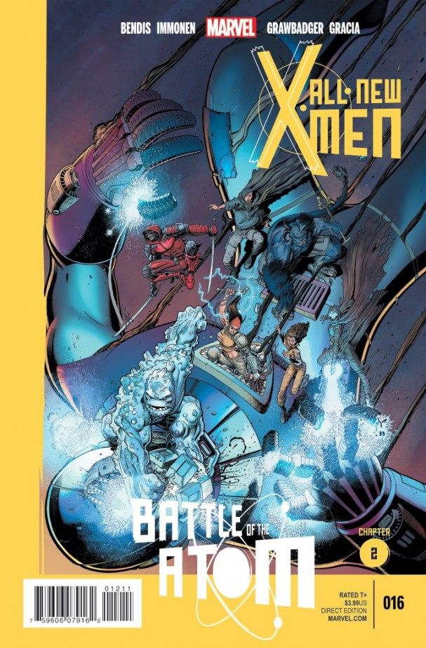 All New X-Men #16 - Battle for the Atom
