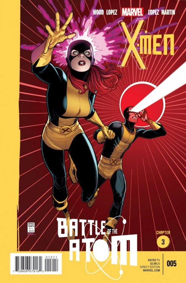 X-Men #5 - Battle for the Atom