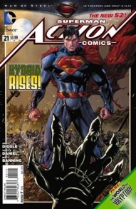 Action Comics #21 (DC Comics) cover