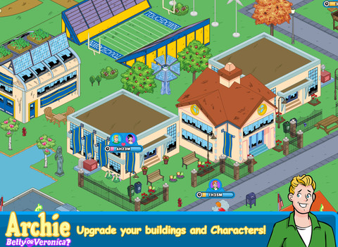 Archie: Betty or Veronia? iOS Game