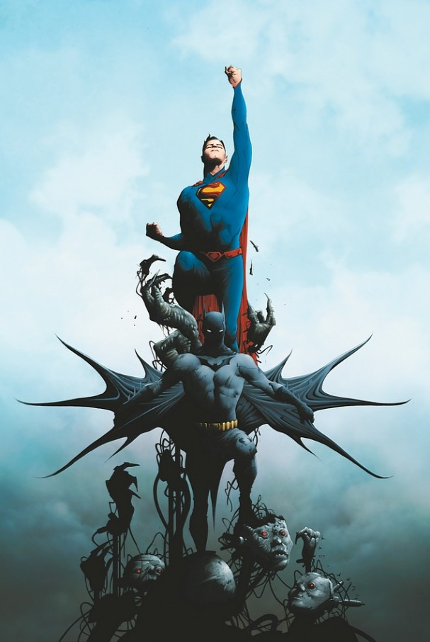 Batman/Superman #1 (DC Comics) - Artist: Jae Lee