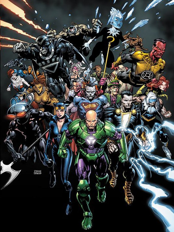 DC Comics - Forever Evil - David Finch