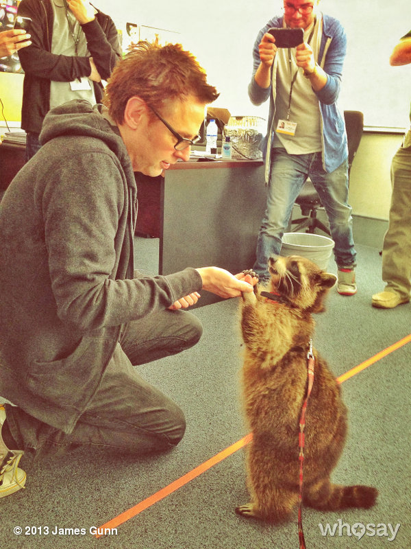 Guardians of the Galaxy - James Gunn and (Rocket) Racoon