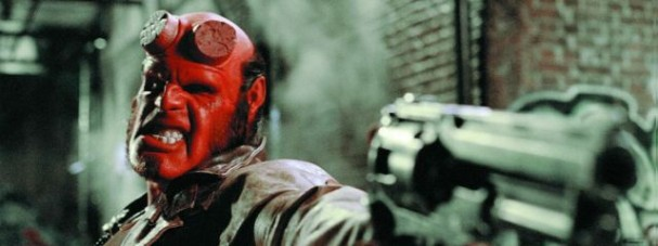 Ron Perlman is Hellboy