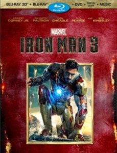 Iron Man 3 Blu-ray 3D Super set