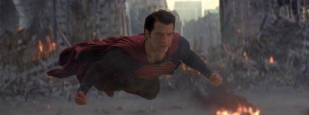 Man of Steel - Superman flying