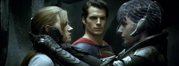 Man of Steel - Amy Adams, Henry Cavill, Antje Traue