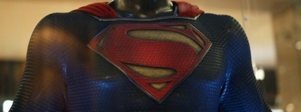 Man of Steel - Superman costume, The Galeries, Sydney