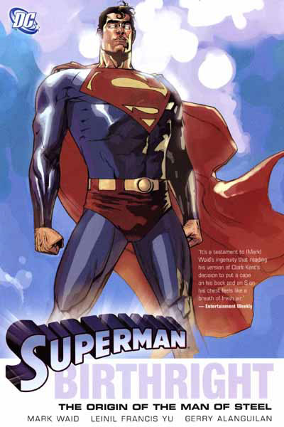 Superman Birthright cover (TPB)