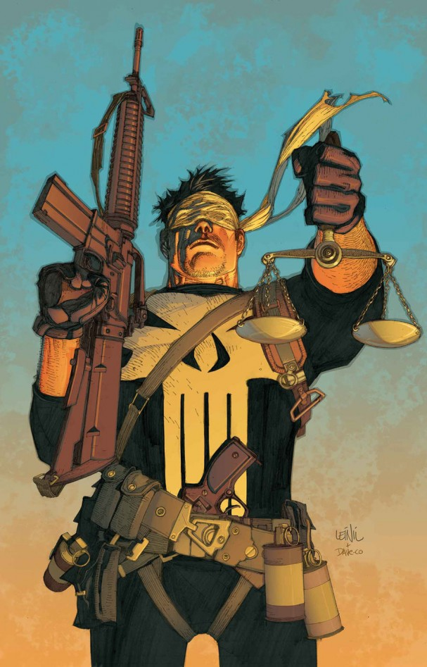 The Trial of the Punisher #1 cover