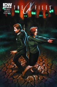 The X-Files: Season 10 #1 cover